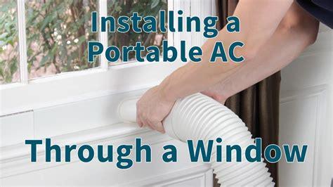 vent  portable ac portable air conditioner portable air conditioner window diy