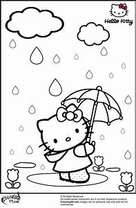 Hello Kitty Coloring Pages | Team colors