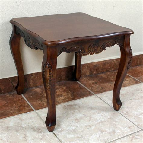 Living Room Side Tables Ebay by International Caravan Square Wood End Table Furniture