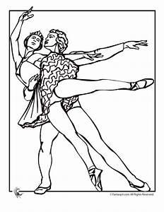 Ballet Dancer Coloring Pages - AZ Coloring Pages