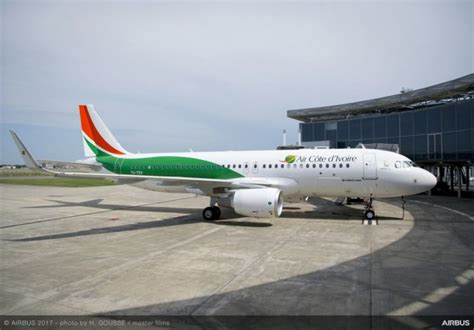 airbus a320 sieges air côte d ivoire takes delivery of a a320 aboard