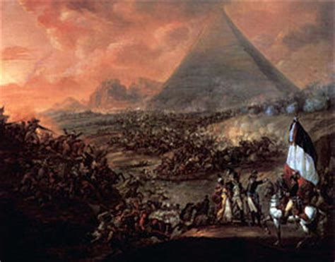 siege napoleon battle of the pyramids