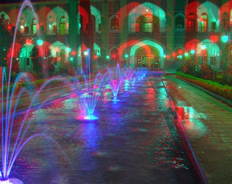 3d Picture by Fountains Anaglyph 3d Stereo Picture You Need Cyan Gl