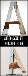 wood letters off of and anthropologie on pinterest With anthropologie wooden letters