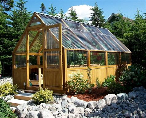 Want the best free diy greenhouse plans? wood & glass greenhouse | Build a greenhouse, Diy ...