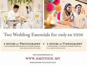 two wedding essentials photography and videography With wedding photography essentials