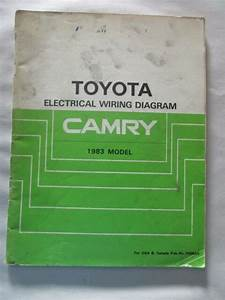 1983 Toyota Camry Electrical Wiring Diagram Manual