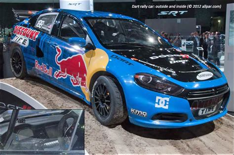 The 600 Horsepower Dodge Dart Rally Car