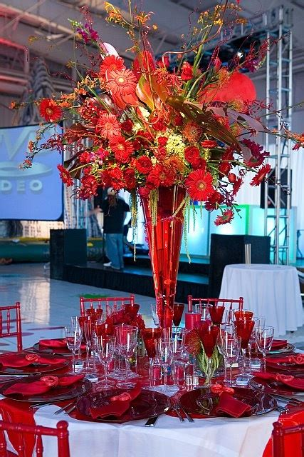 david tutera table centerpieces david tutera red weddings love and passion pinterest