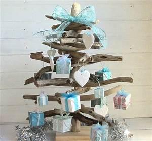 Arbre En Bois Deco : sapin en bois flott fabriquer pour no l 56 id es ~ Premium-room.com Idées de Décoration