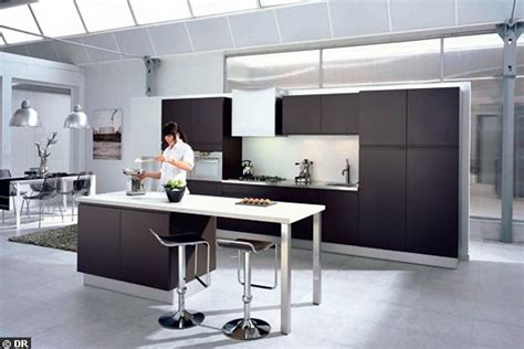 hotte de cuisine ilot central hotte aspirante ilot central design cuisine intrieur