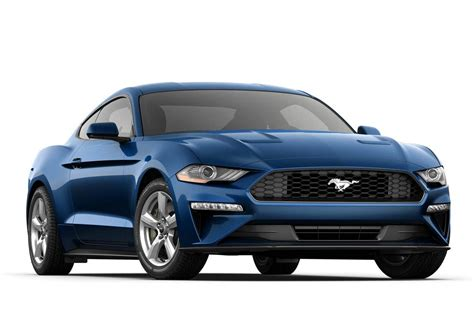 ford mustang ecoboost fastback sports car model