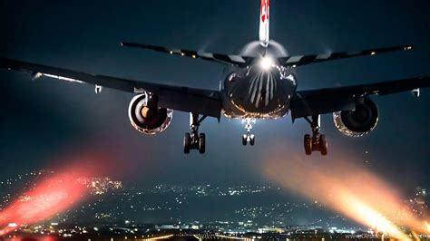 airplane    night wallpapers hd   desktop desktop background