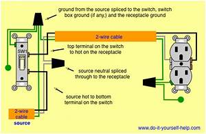Wiring Multiple Outlets Off One Switch - Electrical