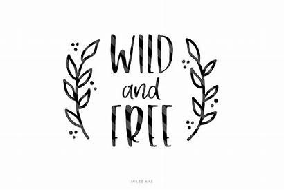 Svg Wild Decal Cutting Cut Quote Svgs
