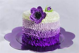 You have to see Purple Buttercream Cake by Redhead1946!