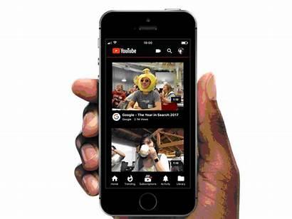 Dark Theme Mobile App Dribbble Phone Users