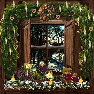 Decoration De Noel Fenetre Exterieur