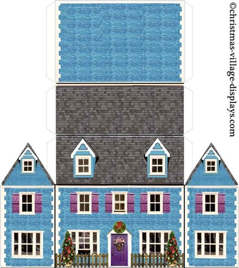 printable papercraft houses printable papercrafts