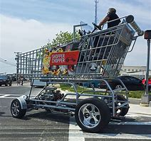 Image result for photo of huge shopping cart full