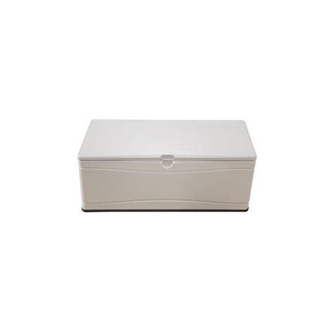 lifetime 130 gallon deck box shop lifetime products 60 in l x 24 in w 130 gallon