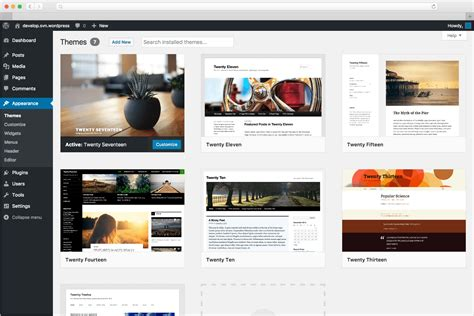 Website Themes Tool Publishing Platform And Cms