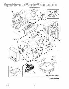 Parts For Frigidaire Lgub2642le9  Freezer Ice Maker Parts