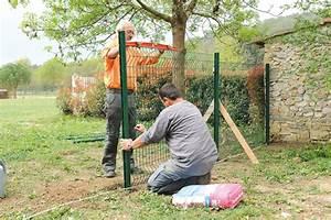 Poser Un Grillage Rigide : comment poser une cl ture en panneaux rigides blog ~ Dailycaller-alerts.com Idées de Décoration