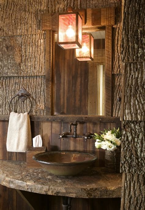 bringing the outdoors in my obsession with bark house
