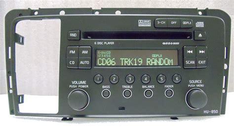 Volvo S60 Radio repair service for volvo s60 v70 s80 xc70 radio hu 850 6