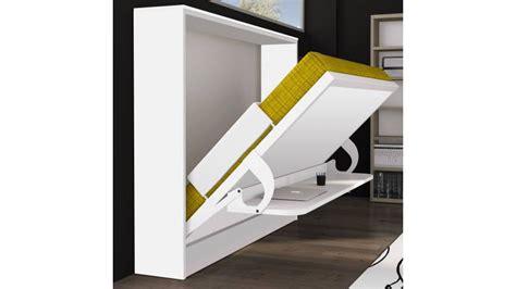 bureau intégré lit escamotable et bureau intégré leandro en panneaux de
