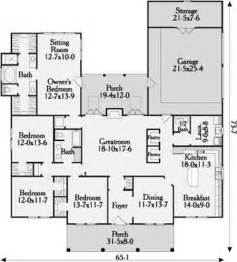 home plan longmeadow 3647 4 bedrooms and 2 baths the house designers