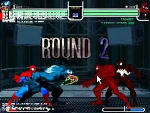 spiderman & venom vs carnage & symbiote spiderman - YouTube
