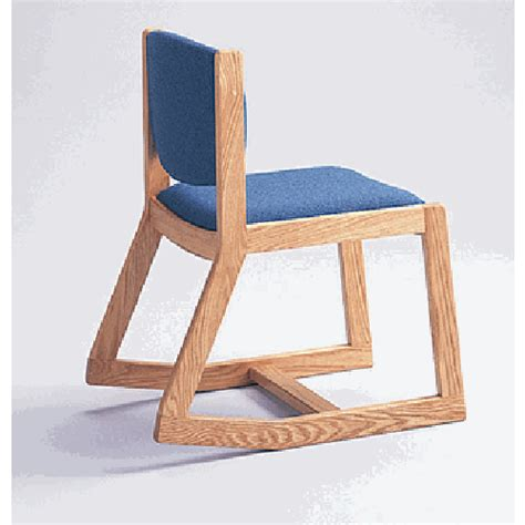 adden two position armless side rocking chair