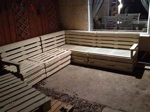 diy pallet sectional sofa and table ideas pallet With pallet sectional sofa plans