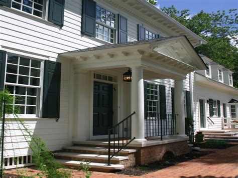 Colonial Front Porch Designs by Colonial Portico Front Porch Designs Front Porch