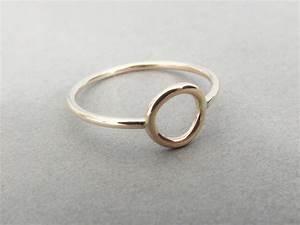 Circle Ring, Stacking Rings, Eternity Rings, Gold Circle ...
