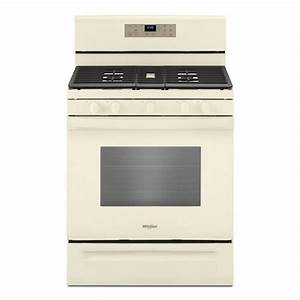 Whirlpool 5 0 Cu  Ft  Gas Range With Self Cleaning And