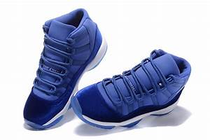 2017 Air Jordan 11 Velvet Royal Blue-White | Jordans 2017