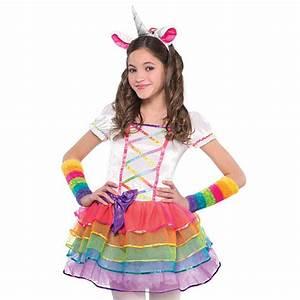 Einhorn Kostüm Mädchen : m dchen deluxe rainbow pony einhorn pegasus kost m tutu stirnband kost m ebay ~ Frokenaadalensverden.com Haus und Dekorationen