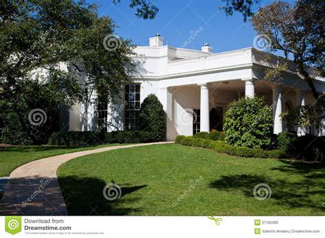 bureau de la maison blanche bureau ovale la maison blanche images libres de droits