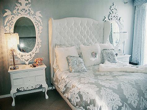 Silver Bedroom Ideas, Silver And White Bedroom Tumblr
