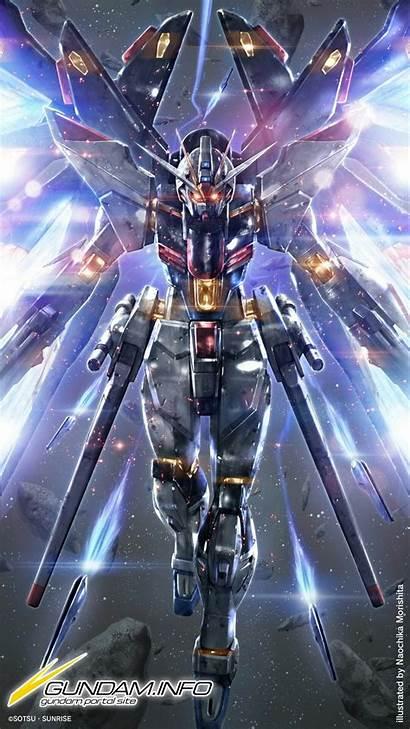 Gundam Freedom Strike Info Iphone