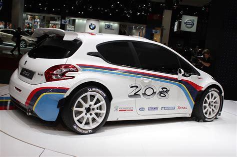 Peugeot 208 Type R5 Rally Car Looks Fast Sitting Still