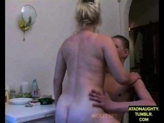 Fuck Stepmom While Dad Out