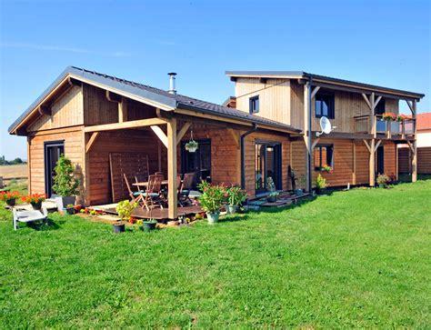 maison bois style ranch nos maisons ossatures bois maison 2 pans