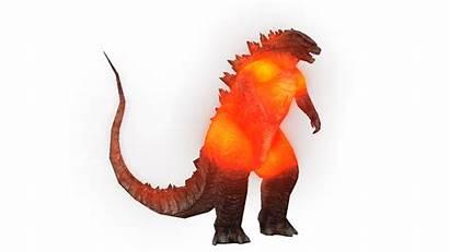 Godzilla Burning Render Deviantart 3d Wikizilla Heisei