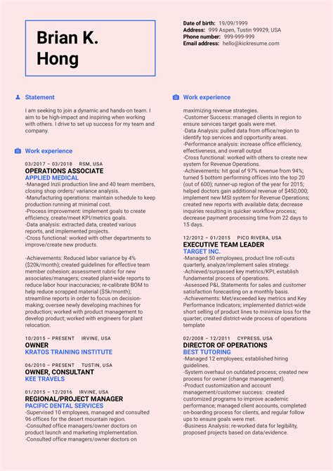 Healthcare resume sample creative images. Healthcare Business Manager Resume Sample | Kickresume