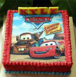 lightning mcqueen cakes lightning mcqueen cake with printed edible picture flickr