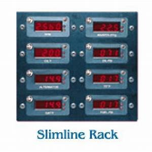 J P  Instruments Slimline Digital Gauges